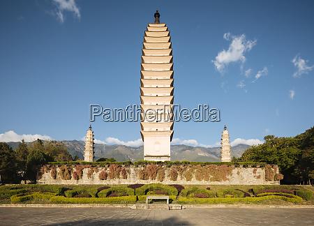 the three pagodas san ta si