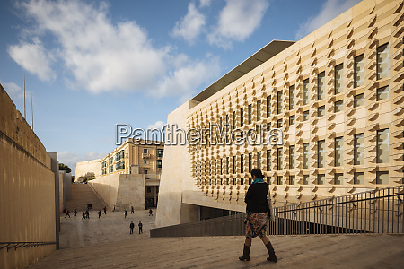 new parliament building valletta malta europe
