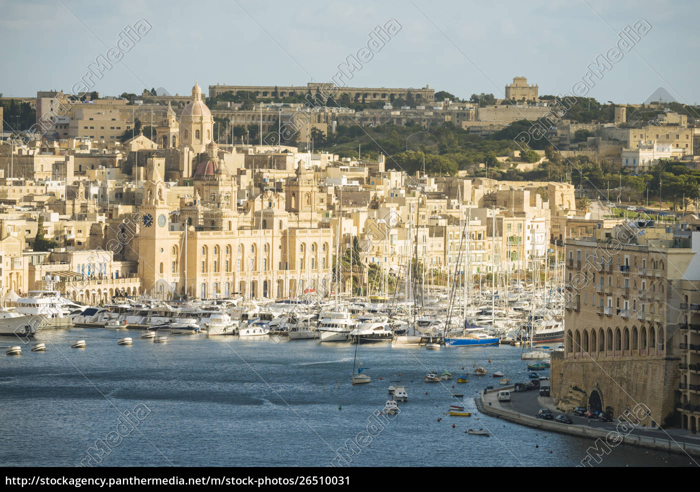 view, over, grand, harbour, , valletta, , malta, - 26510031