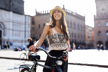 italy bologna portrait of fashionable young