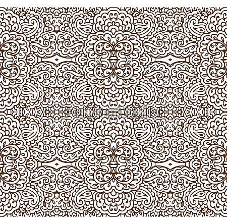 patron de papel tapiz sepia sin