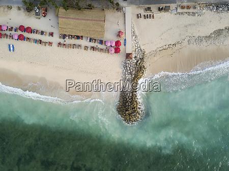 indonesia bali aerial view of pandawa