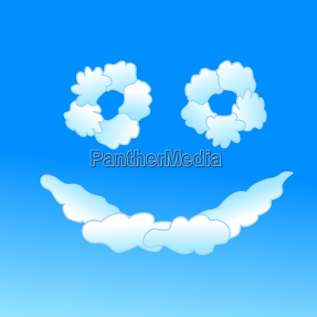 cloudy smile