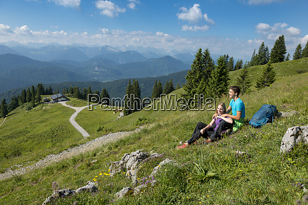 germany bavaria brauneck near lenggries happy