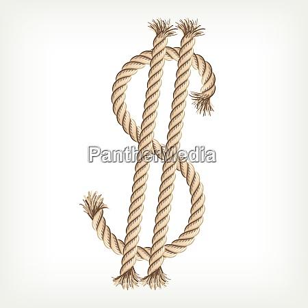 rope dollar