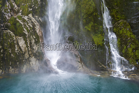 new zealand south island stirling falls