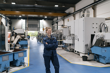 young woman working as a skilled
