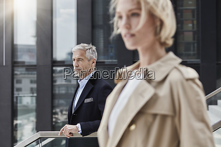 germany duesseldorf portrait of mature businessman
