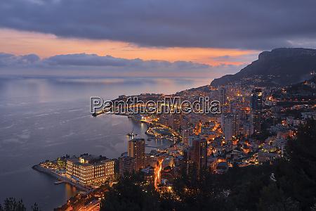 monaco monte carlo view to lightes