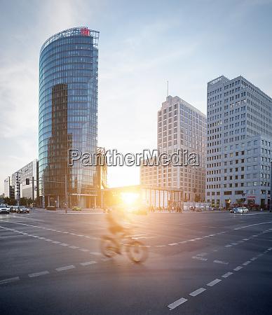 germany berlin crossroad at potsdamer platz