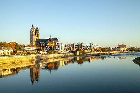 germany saxony anhalt magdeburg cathedral of