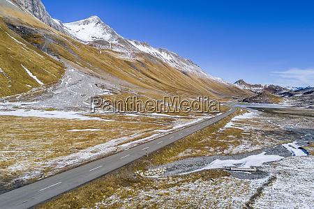 switzerland grisons engadin albula valley aerial