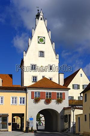 germany bavaria swabia donau ries monheim