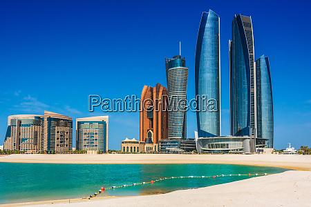 etihad towers in abu dhabi united