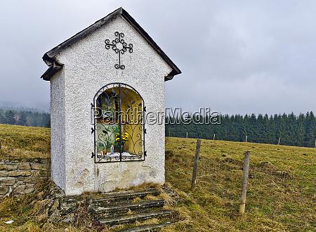 brick built wayside shrine