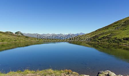 alp lake in tirol