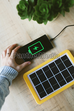 renewable energy technology solar panel charging