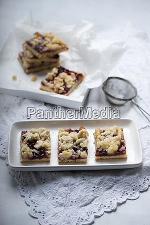 vegan apple and lingon berry tray