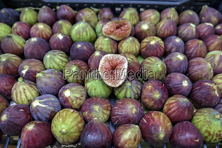 fresh figs on display modena italy