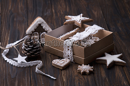 chtistmas new year box gift with