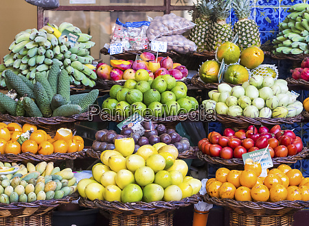 fruits sold on a local market