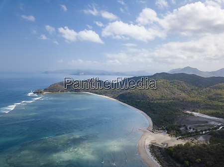 indonesia sumbawa west sumbawa aerial view