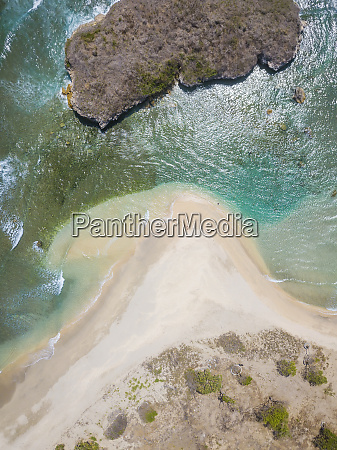 indonesia west sumbawa aerial view of