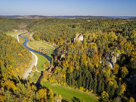 germany bavaria franconian switzerland ahorntal rabenstein