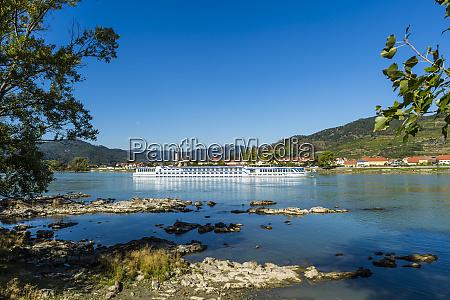 austria wachau cruise ship on the