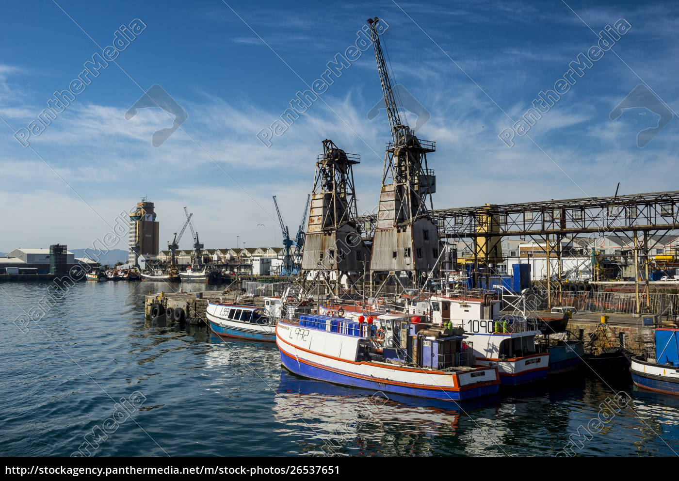 south, africa, , cape, town, , fishing, boats - 26537651