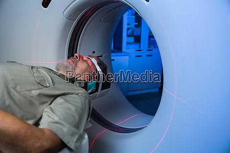 healthcare concept senior male patient