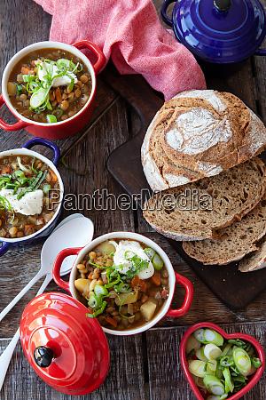 savoury lentil soup