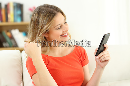 candid woman flirting dating on line