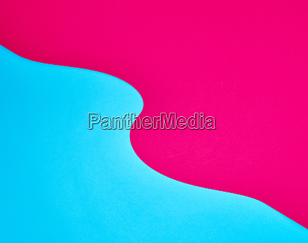 abstract red blue background with curved