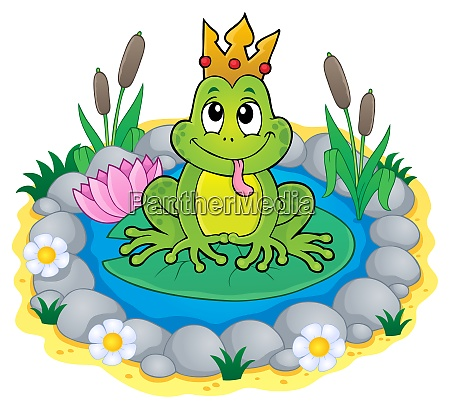 frog with crown theme image 3