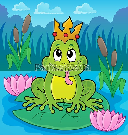 frog with crown theme image 4