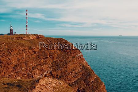 radio tower on the helgoland island