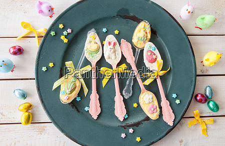 colorful easter candy