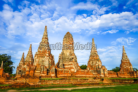wat chaiwatthanaram temple ayutthaya thailand