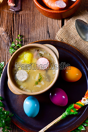 zurekdelicious easter soup for the holidays
