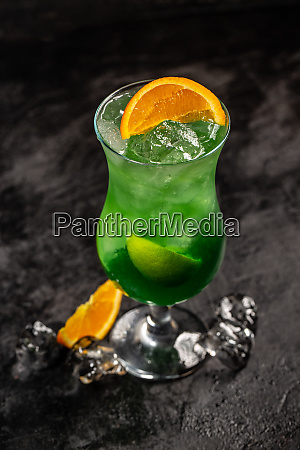 sweet refreshing mint cocktail