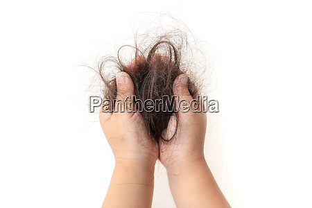 hair fall in children