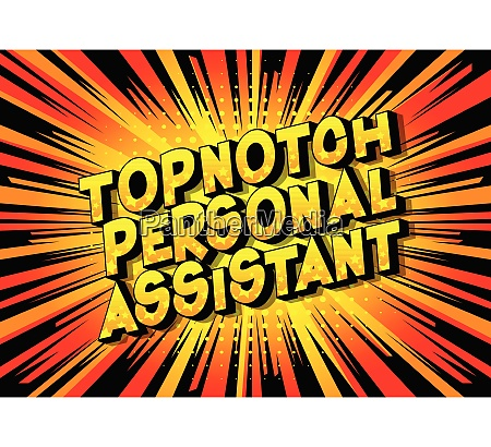 topnotch, personal, assistant, -, vector, illustrated - 26582123