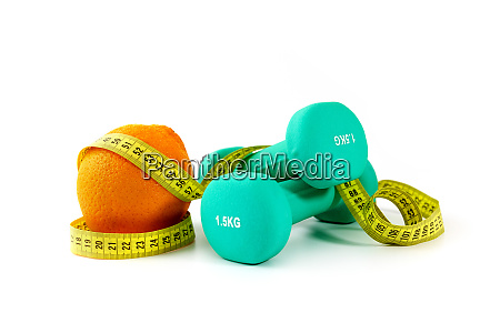 healthy eating and active lifestyle concept