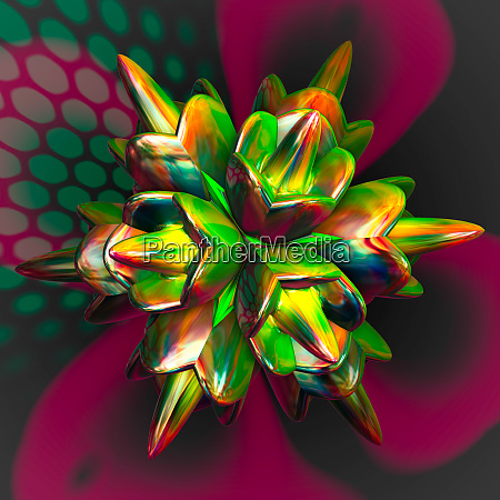 abstract colorful faraktal images 3d rendering