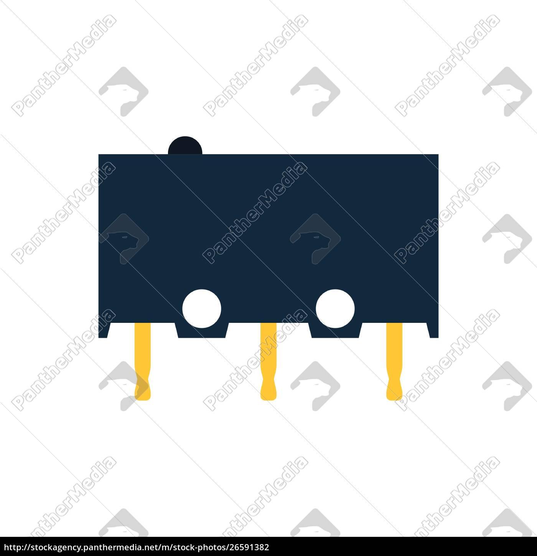 micro, button, icon, icon - 26591382