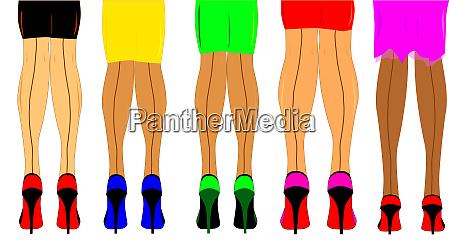 ladies legs