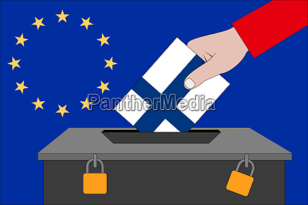 finland ballot box for the european