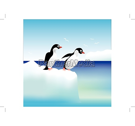 penguins have fun standing on the