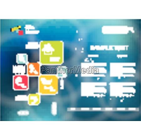 corporate website template creative multifunctional media